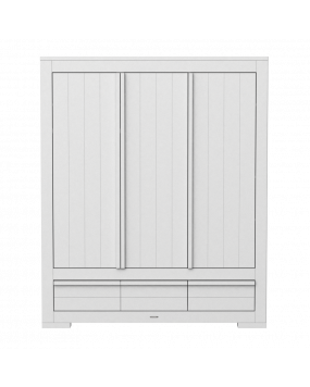 Nature White - Wardrobe 3 D / 2 Dw