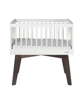 Sixties White Glossy / Pine - Crib