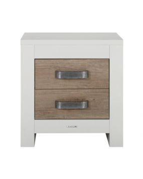 Costa White / Oldwood - Bedside table