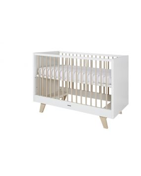 Fynn white / nature - Cot  60x120