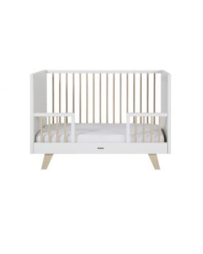 Fynn white / nature - Cot Bed 70x140