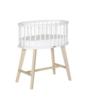 Fynn white / nature - Crib