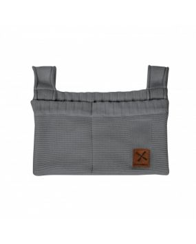 Knitted Anthracite - Storage bag