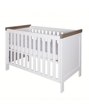 Savona White / Grey - without cross - Cot 60x120