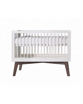Sixties White Matt / Pine - Cot 60x120