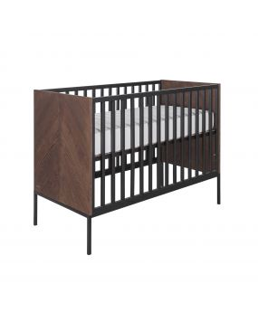 Vince Walnut - Cot bed 70x140